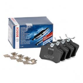 5C0698451A für VW, AUDI, SKODA, SEAT, BENTLEY, Bremsbelagsatz, Scheibenbremse BOSCH (0 986 494 600) Online-Shop