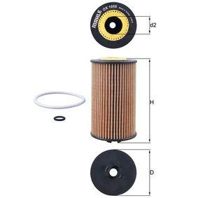 MAHLE ORIGINAL Ölfilter OX 1058D