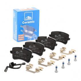 4G0698451K pour VOLKSWAGEN, AUDI, PORSCHE, Kit de plaquettes de frein, frein à disque ATE (13.0470-2770.2) Boutique en ligne