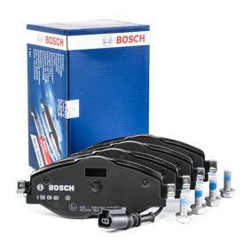 BOSCH 0 986 494 660 Kit de plaquettes de frein, frein à disque OEM - 8V0698151D AUDI, SEAT, SKODA, VW, VAG, AUDI (FAW), VW (FAW), OEMparts à bon prix
