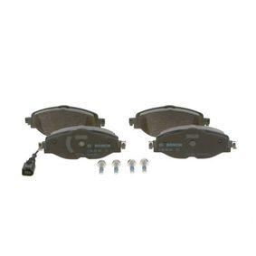 BOSCH Kit de plaquettes de frein, frein à disque 0 986 494 660