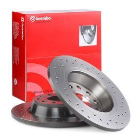 BREMBO Спирачен диск (08.A202.1X) на ниска цена