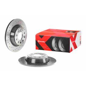 BREMBO Спирачен диск 08.A202.1X