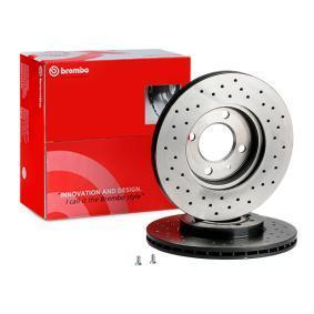 6NO615301D für VW, Bremsscheibe BREMBO (09.5166.1X) Online-Shop