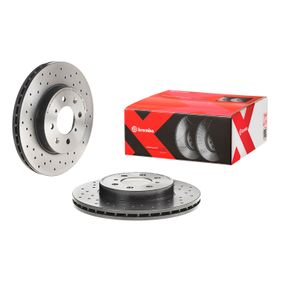 BREMBO Спирачен диск SDB100600 за HONDA, SKODA, ROVER, MG, ACURA купете