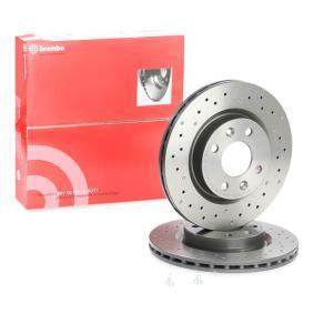 8200171765 für RENAULT, DACIA, RENAULT TRUCKS, Bremsscheibe BREMBO (09.5802.2X) Online-Shop