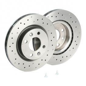 BREMBO Turbolader 09.5802.2X