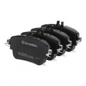 BREMBO Bremsbelagsatz, Scheibenbremse A0084200420 für MERCEDES-BENZ bestellen