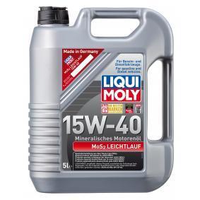 SAE-15W-40 Aceite motor del LIQUI MOLY 2571 recambios de calidad