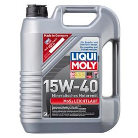 SAE-15W-40 Olio per auto LIQUI MOLY, Art. Nr.: 2571