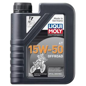 Motoröl SAE-15W-50 (3057) von LIQUI MOLY kaufen online