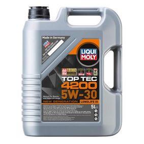 LIQUI MOLY Moottoriöljy Top Tec, 4200, 5W-30, 5l 2503000845704 luokitus