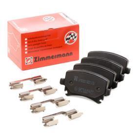 4F0698451D für VW, AUDI, SKODA, SEAT, HONDA, Bremsbelagsatz, Scheibenbremse ZIMMERMANN (23914.170.3) Online-Shop
