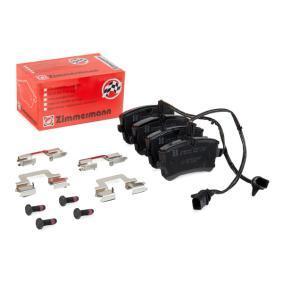 4G0698451A pour VOLKSWAGEN, AUDI, SEAT, SKODA, PORSCHE, Kit de plaquettes de frein, frein à disque ZIMMERMANN (25214.175.4) Boutique en ligne