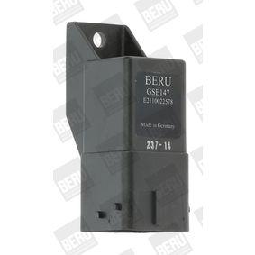 BERU Steuergerät, Glühzeit GSE147