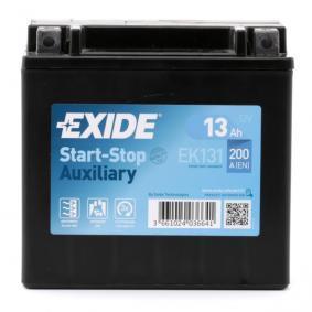 A0019822708 für MERCEDES-BENZ, Starterbatterie EXIDE (EK131) Online-Shop