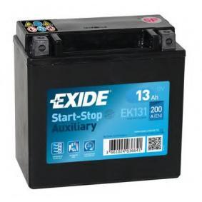 EXIDE EK131 Starterbatterie OEM - A0019822708 MERCEDES-BENZ günstig