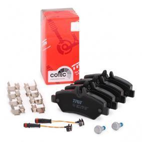 A0044206920 für VW, MERCEDES-BENZ, Bremsbelagsatz, Scheibenbremse TRW (GDB2076) Online-Shop