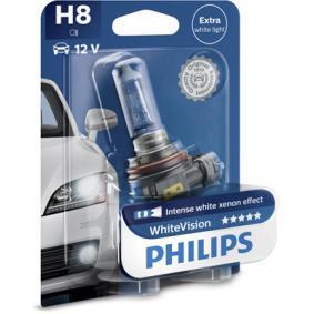 12360WHVB1 Крушка с нагреваема жичка, фар за дълги светлини от PHILIPS качествени части