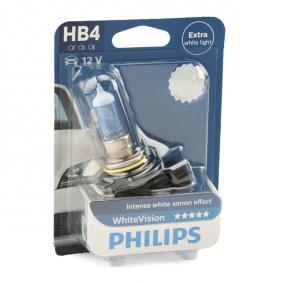 9006WHVB1 Bulb, spotlight from PHILIPS quality parts