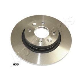 Bremsscheibe JAPANPARTS Art.No - DI-035 OEM: 8200123117 für RENAULT, DACIA, RENAULT TRUCKS kaufen