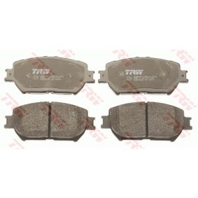 TRW Bremsbelagsatz, Scheibenbremse 0446533320 für OPEL, TOYOTA, HYUNDAI, KIA, LEXUS bestellen