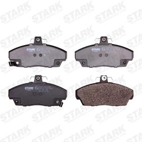 GBP90313 за SKODA, ROVER, MG, Комплект спирачно феродо, дискови спирачки STARK (SKBP-0010093) Онлайн магазин