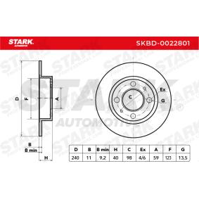 500 (312) STARK Disco de freno SKBD-0022801