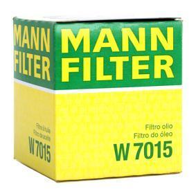 MANN-FILTER FORD FOCUS Brazo de limpiaparabrisas (W 7015)