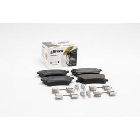 BRECK Bremsbelagsatz, Scheibenbremse 4B3698451A für VW, AUDI, SKODA, SEAT bestellen