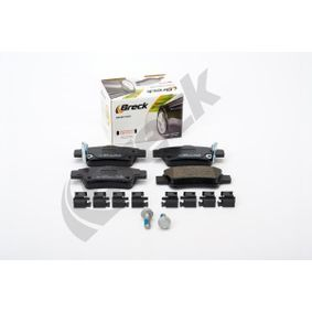 BRECK Bremsbelagsatz, Scheibenbremse 34116775314 für BMW, JAGUAR bestellen