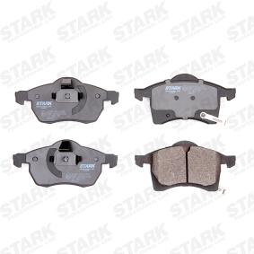 STARK SKBP-0011254 Bremsbelagsatz, Scheibenbremse OEM - 1605996 OPEL, SAAB, VAUXHALL, CHEVROLET, RELIANCE, JURID, MINTEX, GENERAL MOTORS, HOLDEN, A.B.S., DIEDERICHS, OEMparts, TOMEX Brakes günstig