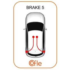 Handbrake (631.20) producer COFLE for FIAT PUNTO (188) year of manufacture 09/1999, 80 HP Online Shop