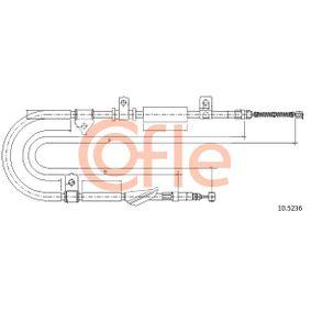 COFLE Въжен механизъм, ръчна спирачка 10.5236