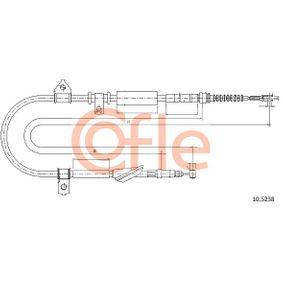 COFLE Въжен механизъм, ръчна спирачка 10.5238