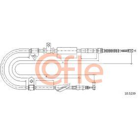 COFLE Въжен механизъм, ръчна спирачка 10.5239
