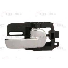 BLIC Manecilla de puerta cromo Delante, derecha 6010-16-040408P en calidad original