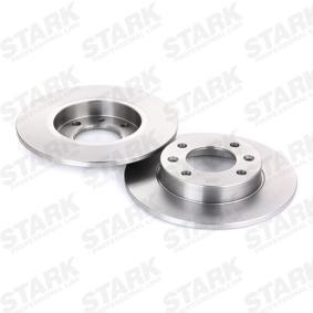Discos de freno STARK (SKBD-0022803) para CITROËN C3 precios