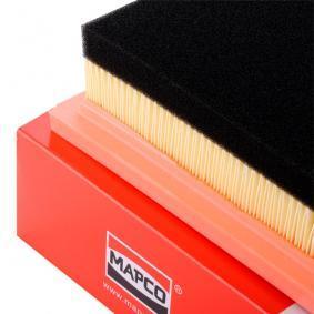 PEUGEOT 207 1.6 HDi 110 112 CH année de fabrication 08.2009 - Filtre à air (60058) MAPCO Boutique internet
