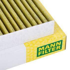 MANN-FILTER Filter, Innenraumluft 1H0819644A für VW, AUDI, SKODA, SEAT, HONDA bestellen