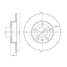 METELLI SEAT IBIZA Discos de freno (23-0366C)