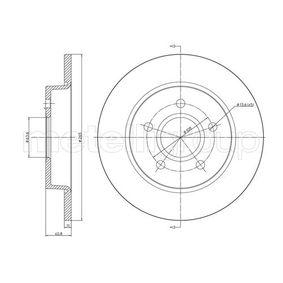 METELLI Disco de freno 23-0688C