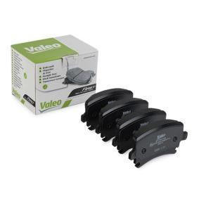 3C0698451A für VW, AUDI, SKODA, SEAT, Bremsbelagsatz, Scheibenbremse VALEO (301752) Online-Shop