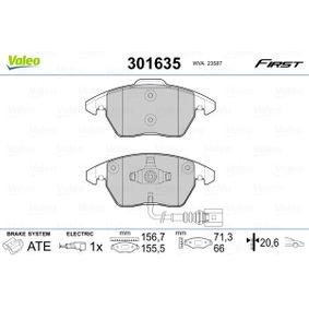 VALEO VW GOLF Тръбопровод високо налягане, климатизация (301635)