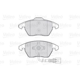 VALEO Kit de plaquettes de frein, frein à disque 301635