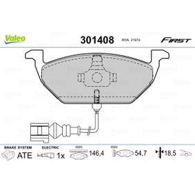 VALEO Запалителен модул / комутатор (301408)