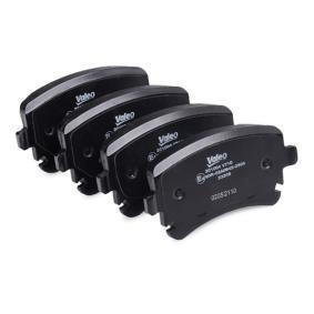 VALEO Bremsbelagsatz, Scheibenbremse 4B3698451A für VW, AUDI, SKODA, SEAT bestellen
