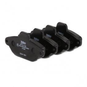 VALEO Brake pads 301012