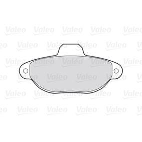Brake pads VALEO (301012) for FIAT PANDA Prices