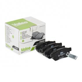 Комплект спирачно феродо, дискови спирачки VALEO Art.No - 301053 OEM: GBP90316AF за HONDA, SKODA, ROVER, MG купете